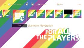 LGBT theme για το PS4