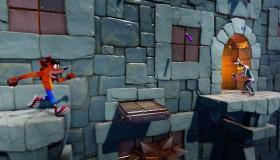 Crash Bandicoot N.Sane Trilogy: Stormy Ascent Level