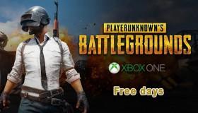 PlayerUnknown's Battlegrounds: Δωρεάν περίοδος στο Xbox One