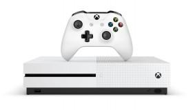 Xbox One S με δώρο χειριστήριο, τρίμηνη συνδρομή Xbox Live Gold και δύο games