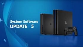 PS4 Firmware update v5.0