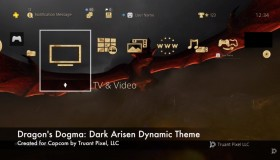 Dragon's Dogma: Dark Arisen PS4 Dynamic Theme