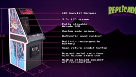 Mini Arcade RepliCade X Tempest