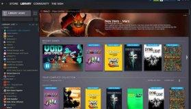 H Valve μοιράστηκε τις πρώτες επίσημες φωτογραφίες από το νέο λουκ του Steam Library