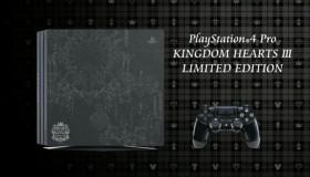 PS4 Pro Kingdom Hearts III Limited Edition