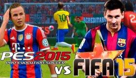 Live: PES 2015-FIFA 15