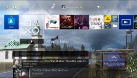 Far Cry 5 PS4 Dynamic theme