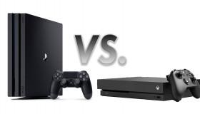 Συγκριτικό Xbox One X vs PS4 Pro