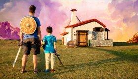 Πατέρας έφτιαξε το σπίτι από το The Legend of Zelda: Breath of the Wild