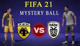 FIFA 21: Παίζουμε το ντέρμπι ΑΕΚ - ΠΑΟΚ