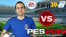 FIFA 19 vs Pro Evolution Soccer 2019