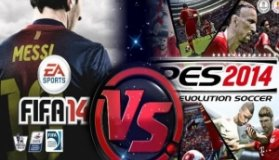 FIFA 14 vs Pro Evolution Soccer 2014