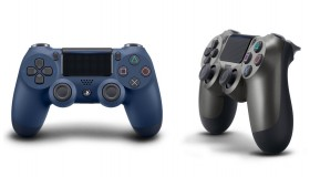 Midnight Blue και Steel Black DualShock 4