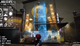 Concrete Genie gameplay video