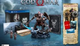 God of War στο PS4: Ημερομηνία κυκλοφορίας και Collector's