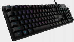 Logitech G512 keyboard με θορυβώδη πλήκτρα GX Blue