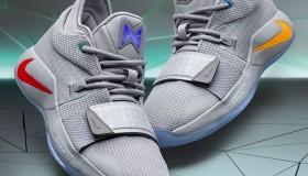 Συλλεκτικά παπούτσια του Paul George από τη συνεργασία Nike και PlayStation