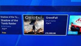 Glitch στο PlayStation Store UK εμφανίζει τα δωρεάν PS Plus games στην τιμή των 10.000 λιρών