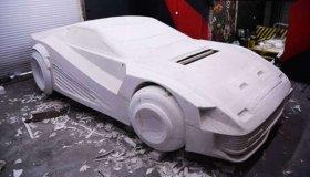 Fan του Cyberpunk 2077 κατασκευάζει το Quadra V-Tech αυτοκίνητο με αφρολέξ