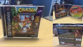 Crash Bandicoot N. Sane Trilogy σε PS1 box