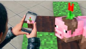 Minecraft Earth AR game