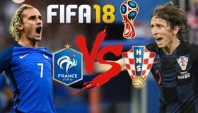 Τελικός μουντιάλ στο Fifa 18: Γαλλία - Κροατία