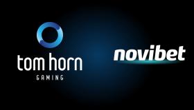 Προχωράνε μαζί Novibet και Tom Horn Gaming
