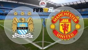 Παίζουμε Fifa 18: Manchester City vs Manchester United