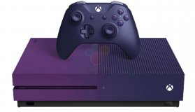 Μωβ κονσόλα Xbox One S Fortnite Limited Edition