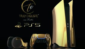 PS5 Special Limited Luxury Edition με χρυσό 24 καρατίων