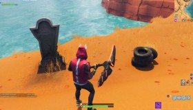 Fortnite: In-game ταφόπλακα παίκτη